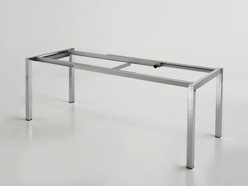 Gambe Allungabili Per Tavoli.Tavolo Allungabile Gambe 50x50mm